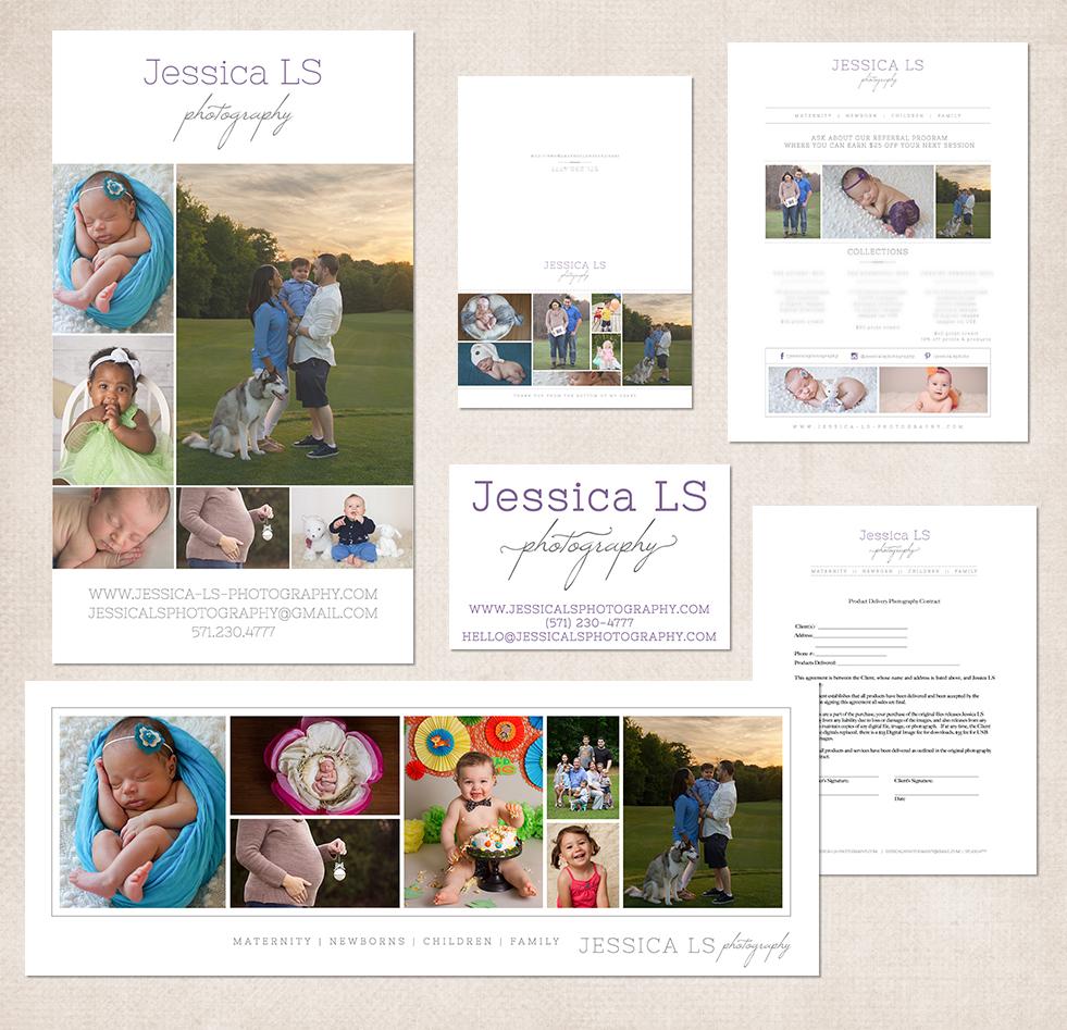 Jessica LS Photography Woodbridge VA photographer 2015 Brand and Logo