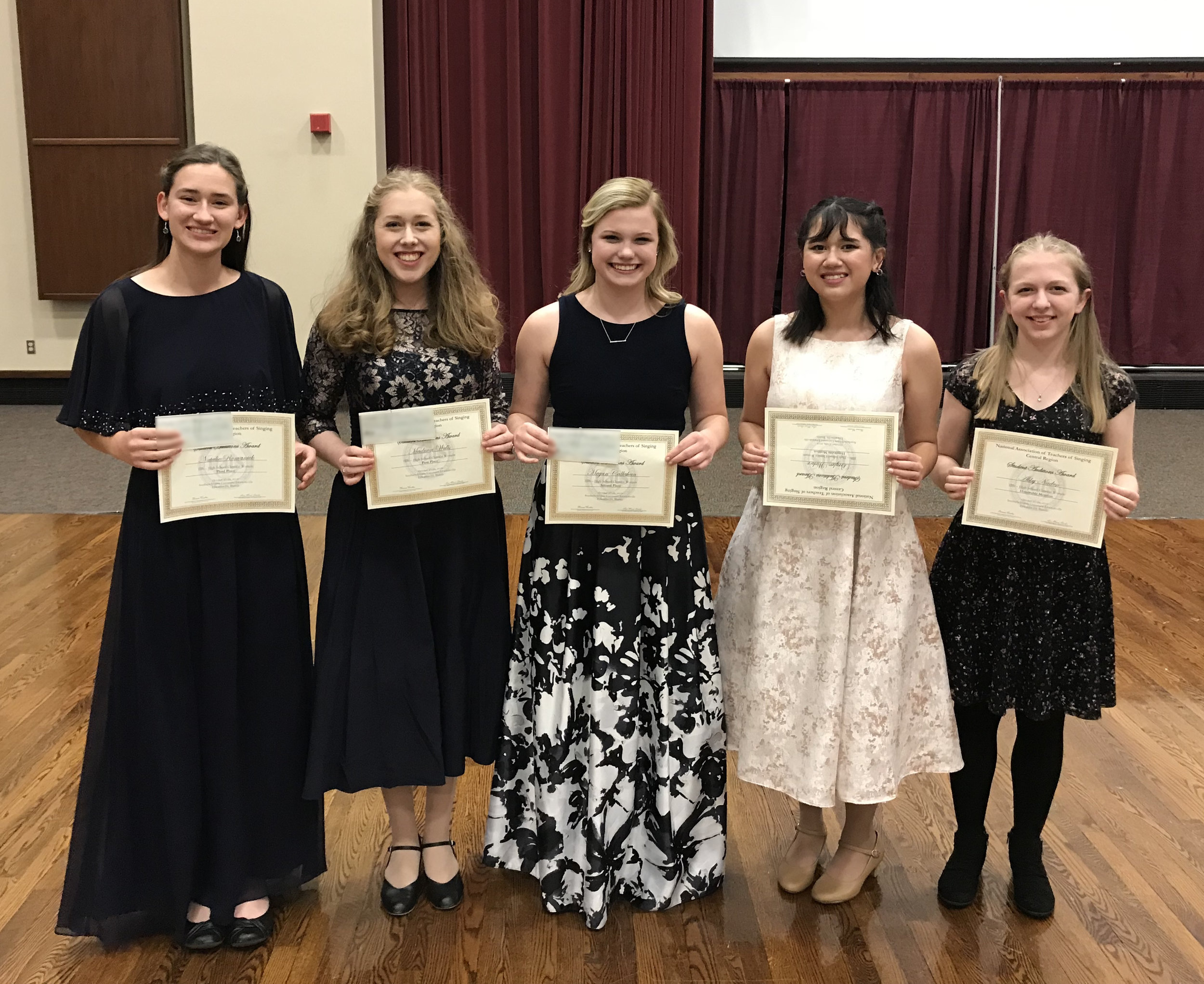 Category 3B - High School Classical Women