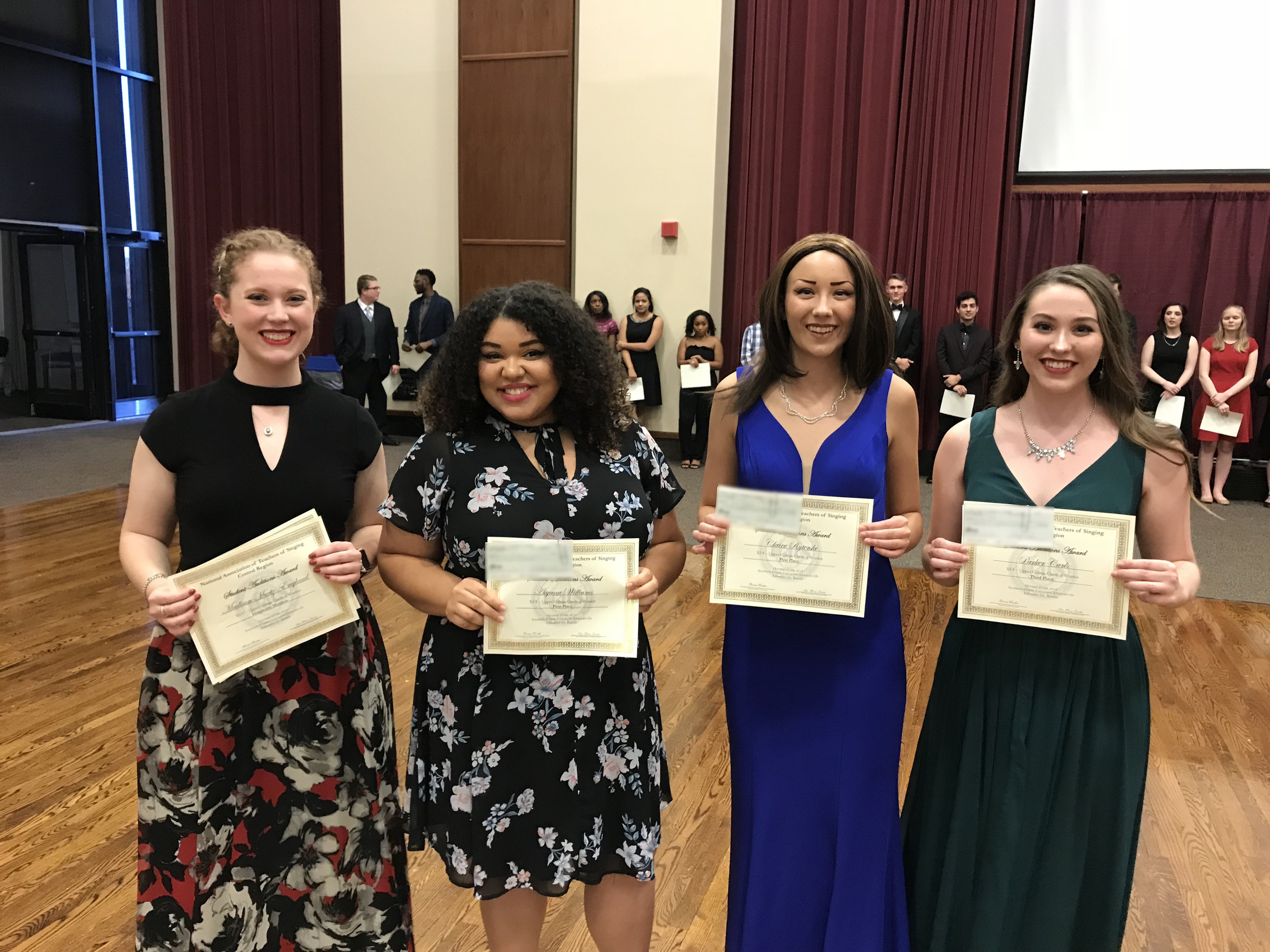 Category 1-1 - Upper College Classical Women