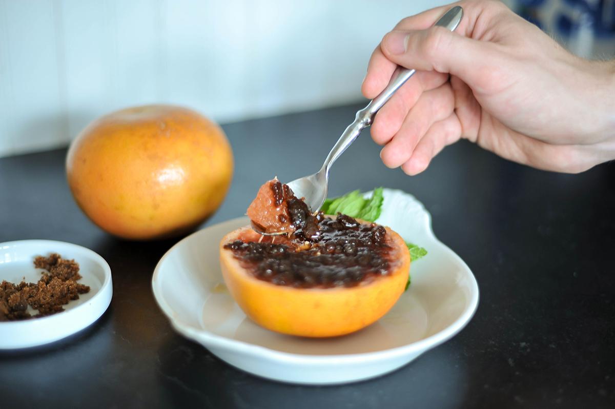 Smak Chicago Food Blog Grapefruit Brulee-6