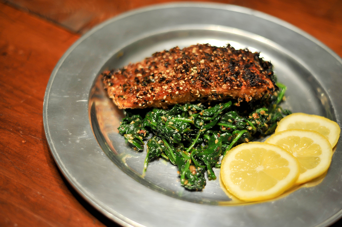 Smak Chicago Food Blog Sesame Crusted Salmon-5