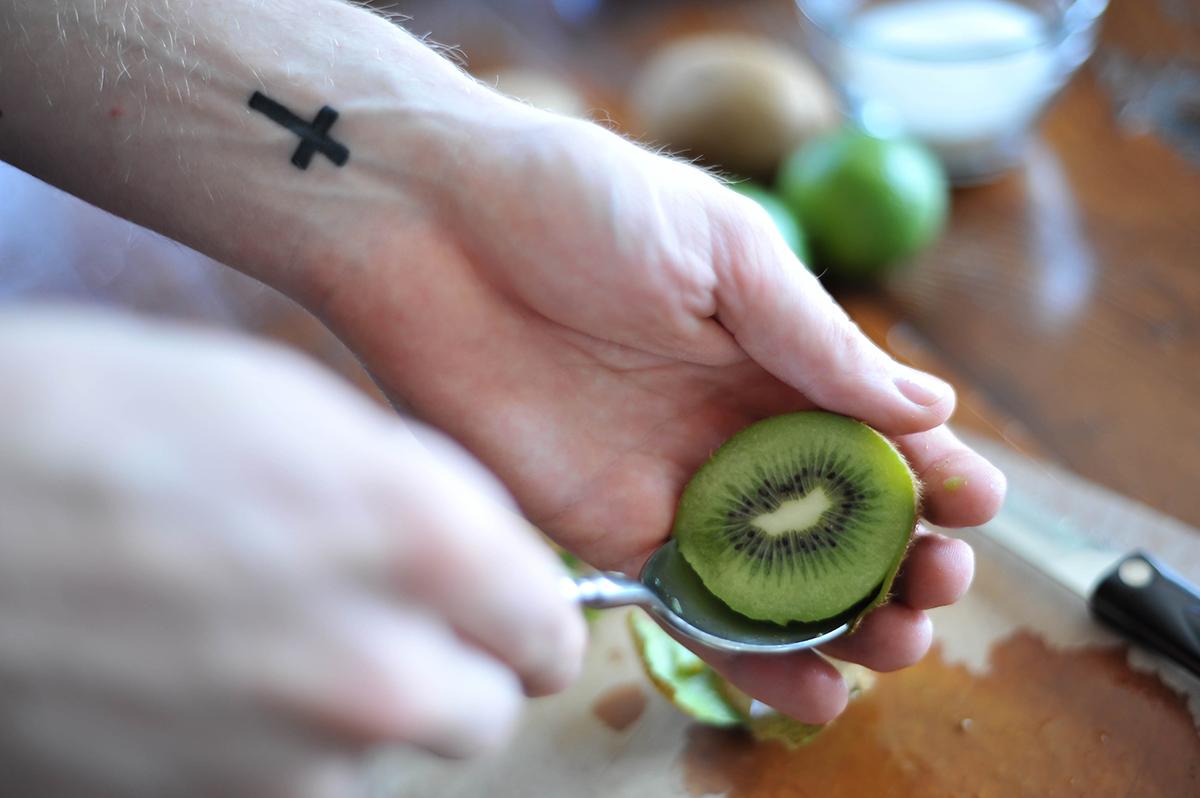 Kiwi Lime Sorbet-3