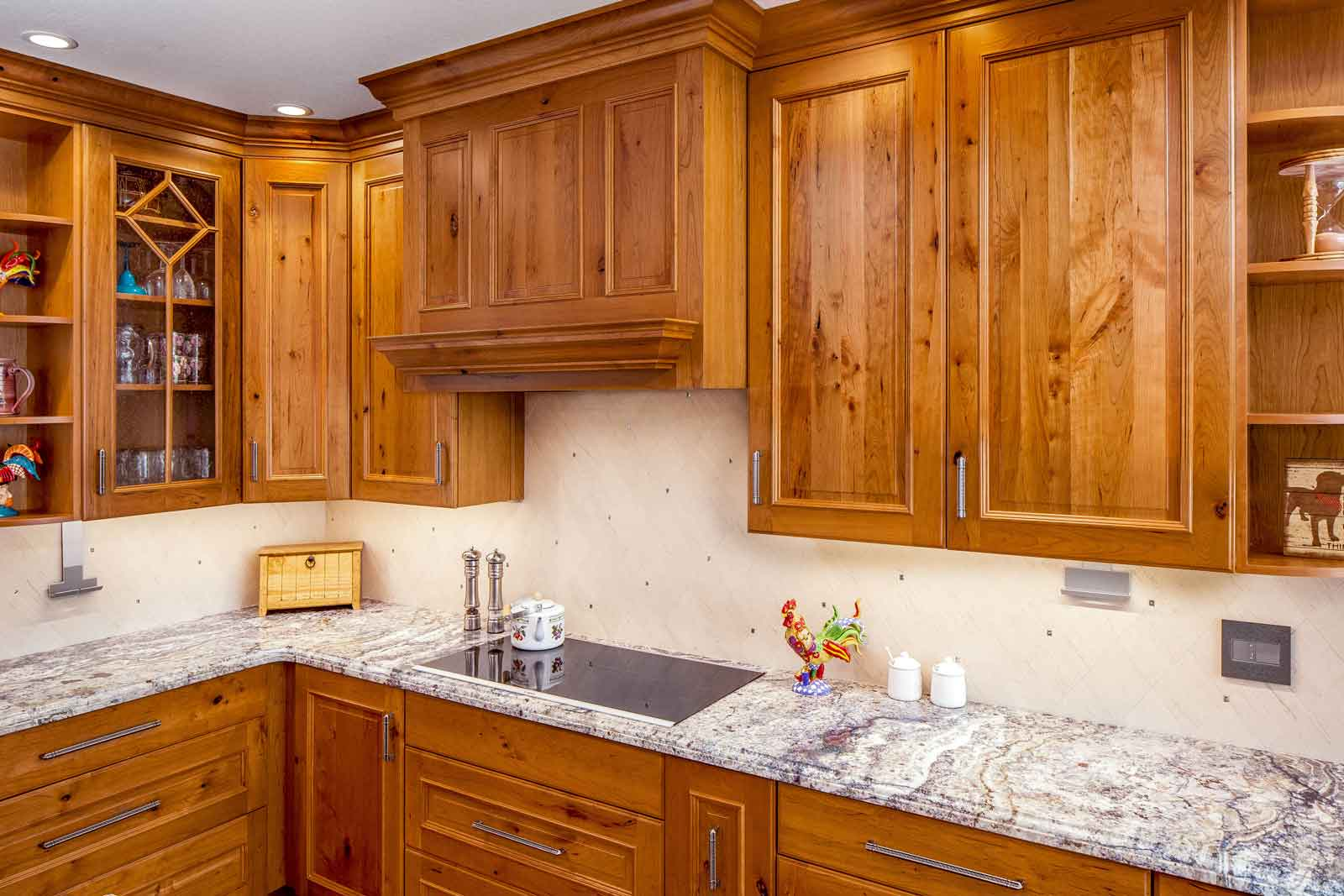 Cherry Cabinet Range Hood