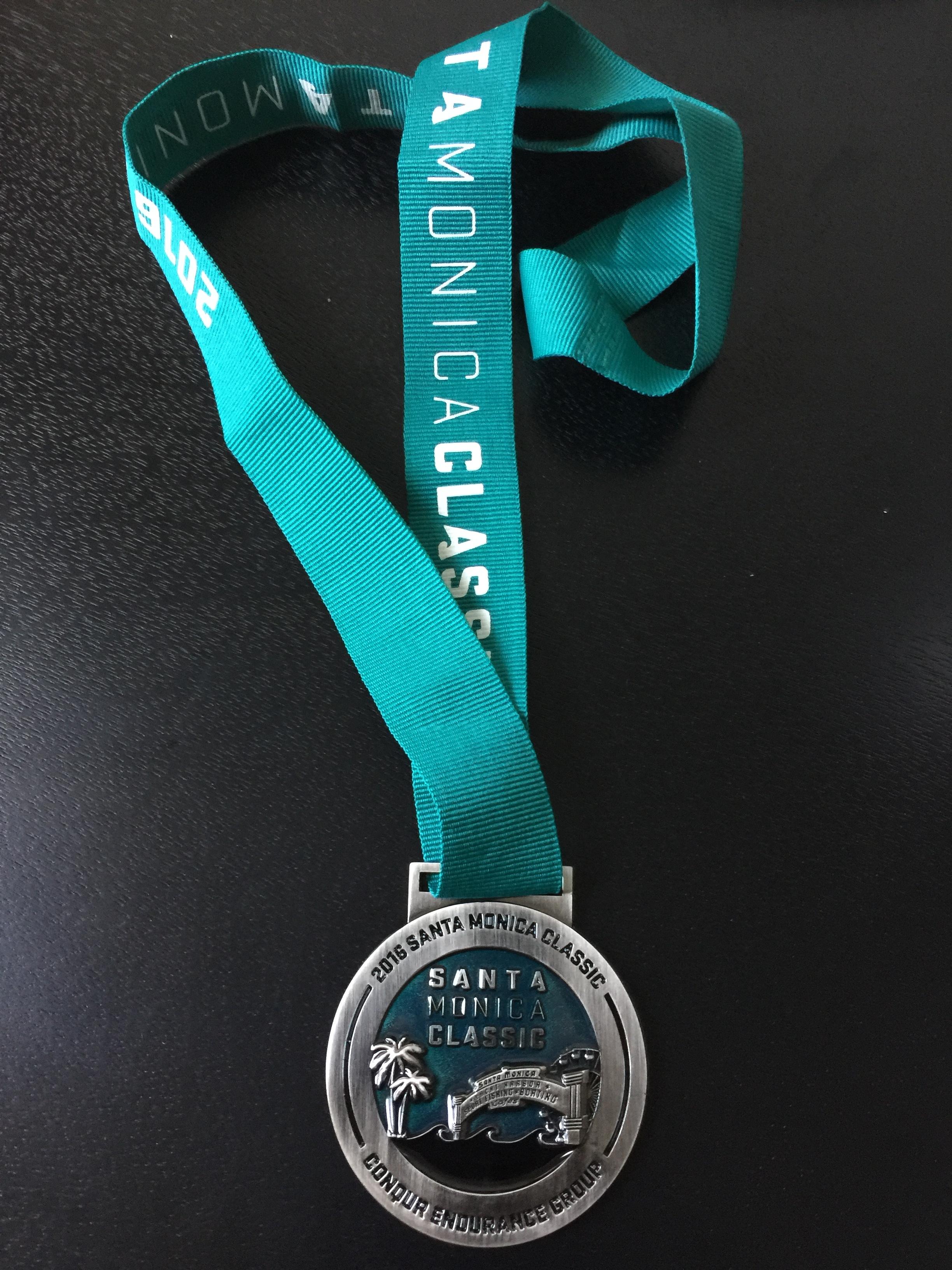 Santa Monica Classic 10K Finisher's Medal