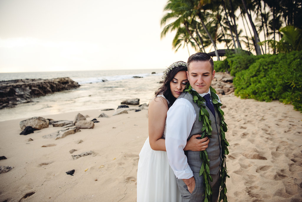 We decided to use Couture Weddings Hawaii after I was in a wedding on Oahu in which my cousin had hired Shari and her team as their wedding Coordinator. I remember how great that wedding was and how smooth everything went. We decided to hire Couture Weddings Hawaii.  We got married on 6/24/17 and started the planning process about a year before. We communicated the first time via Skype and she explained all she would do and all that was involved in the planning process. My wife and I looked at each other and both instantly knew she was perfect for us.  We constantly communicated via Skype, email, text and phone. Our lives were so busy, but Shari was so patient and assisted us in making decisions.  We relied on her expertise on what would look good and which vendors we should pic. She offered a ton of suggestions. We were tight on budget and she always kept that in mind and gave us tips on where to save when we could.  6 months in to the planning process, we took a trip to Oahu and spent the week there with Shari going to food tastings, flower appointments, cake tastings, and checking out the venue. With Shari's help, we finalized everything. All that was left to do was just show up an get married!  We are so thankful for CWH and we owe them a huge THANK YOU for making our day so perfect for us. At the end of it, we gained a lifelong friend in Shari and a lifelong memory for ourselves and our families.   Chris and Rachel