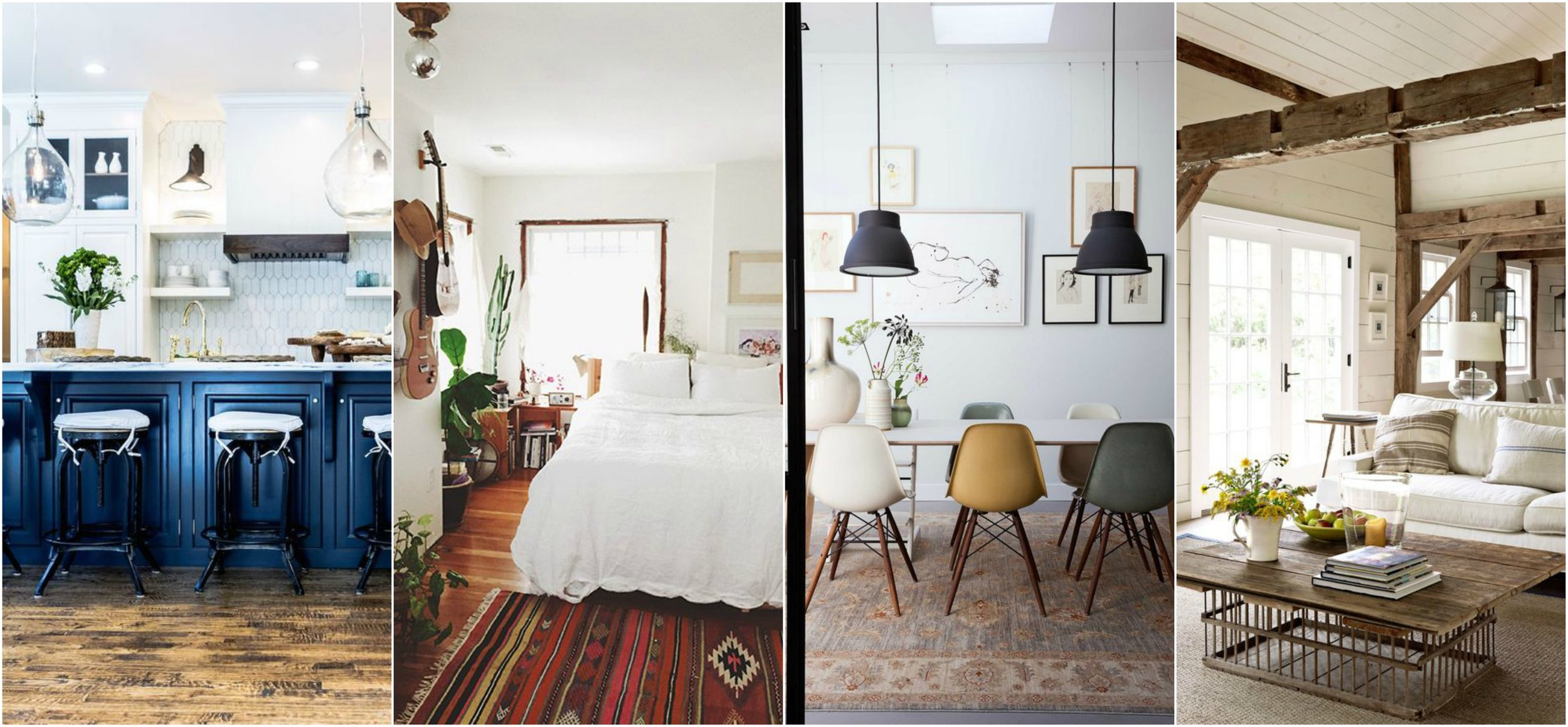 Images via  The Simply Luxurious Life ,  Gravity Home , and  Country Living