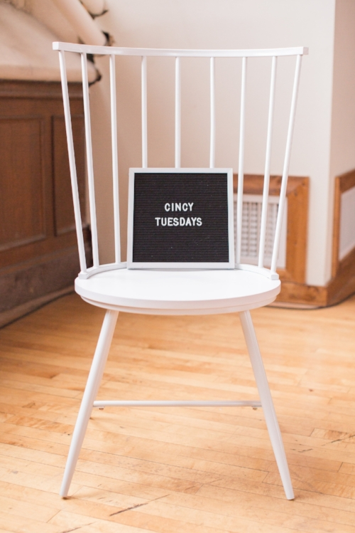 Photo by:  L Hunley Photography   Chair from  Queen City Vignette    Elysian Market 's board by  Letterfolk