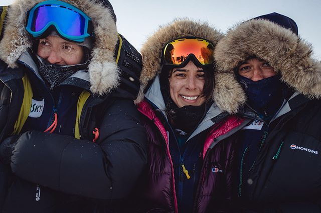 When times get tough, you get real. We see our true personalities surface. And we shined. We came out of it with a deeper connection, respect and love for one another. Sisterhood is born. What a strong team and what a journey! •• @kasperskylab powered by @engie  #northpole #arctic #nofilter #ice #snow #landscape •• First photo by @maxavdeev