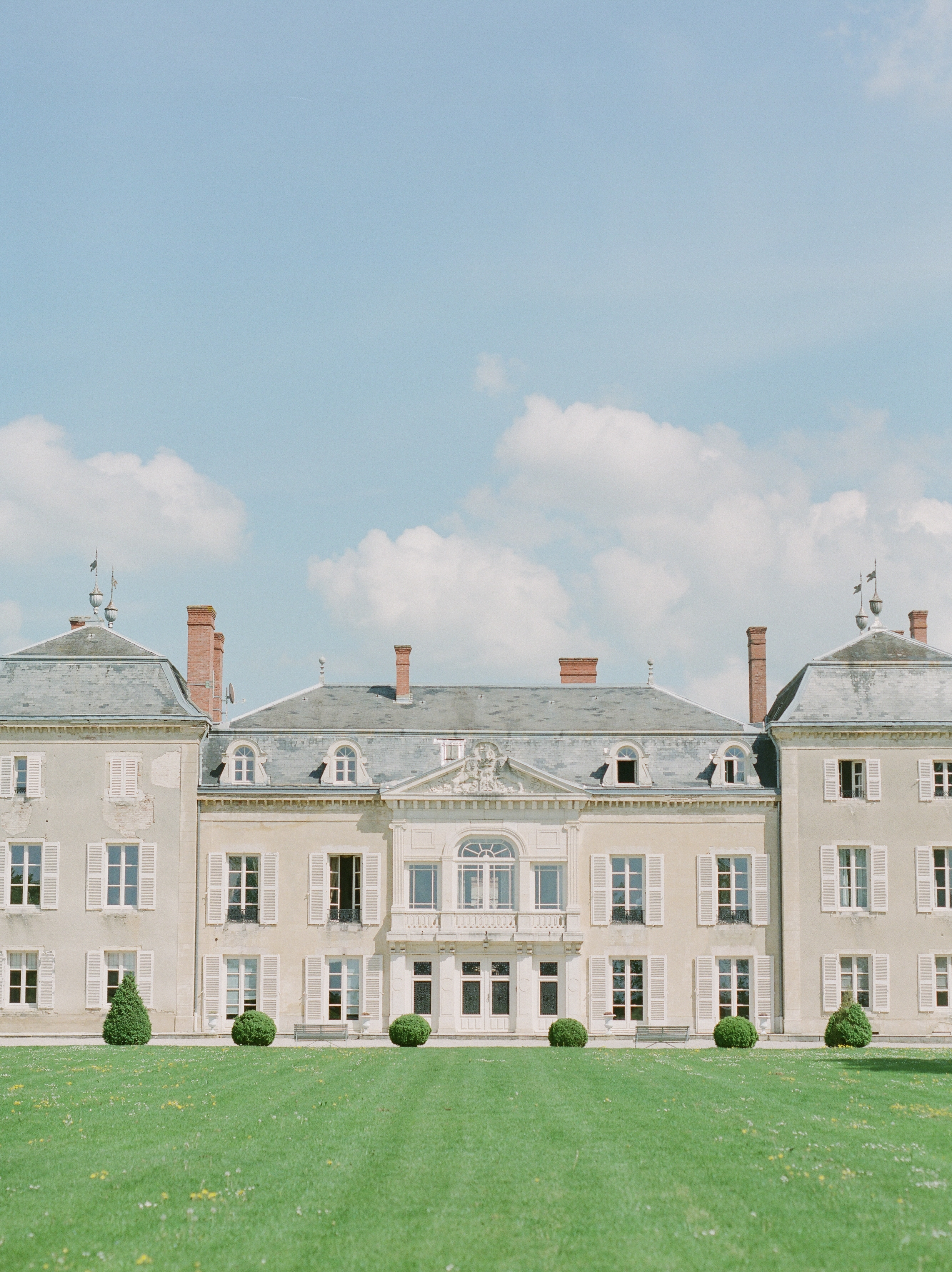 Garance + Adrien - Chateau de Varennes Wedding, France