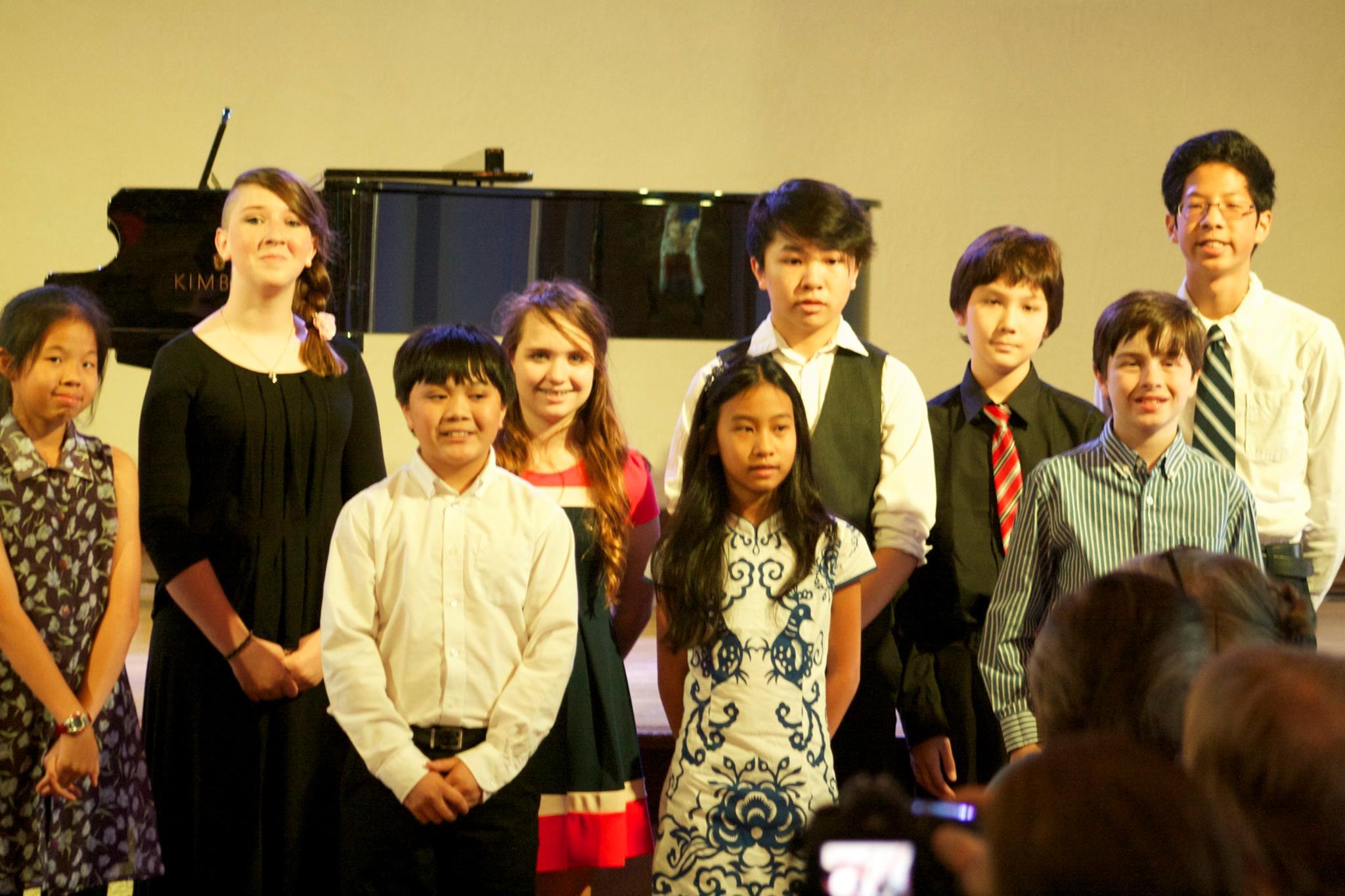 2016 Junior Participants