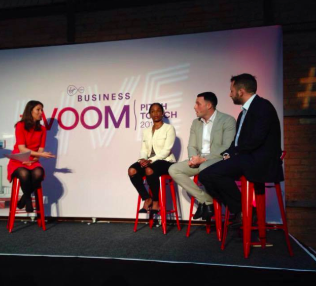 Me... Judging & Speaking at Virgin/Richard Branson's VOOM Pitch to Rich Startup Competitio