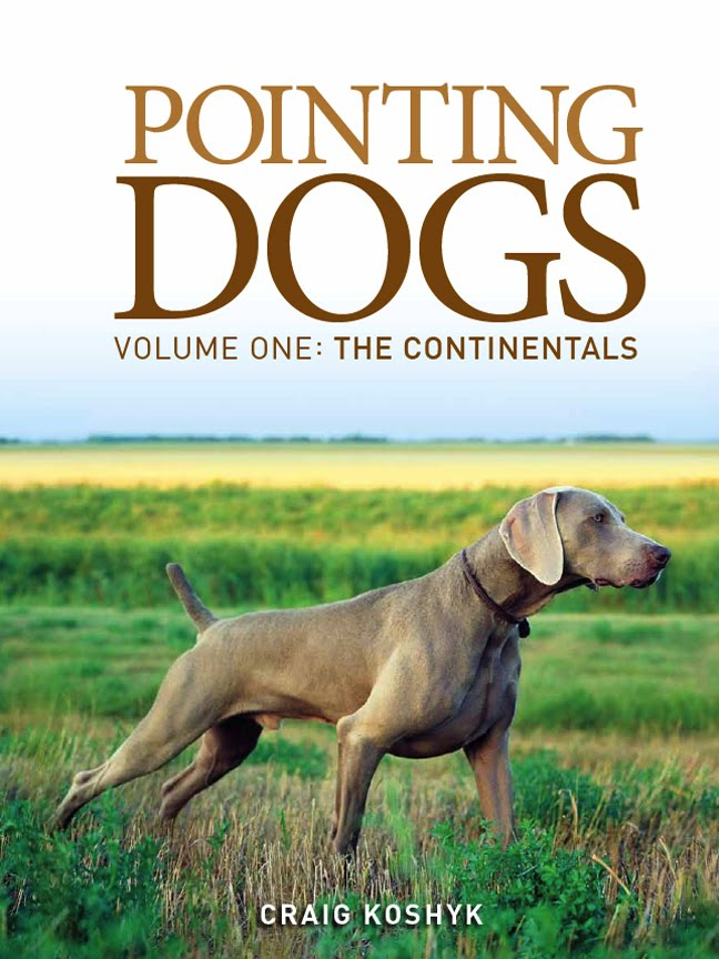 Enjoy my blog posts? Check out my book   Pointing Dogs, Volume One: The Continentals