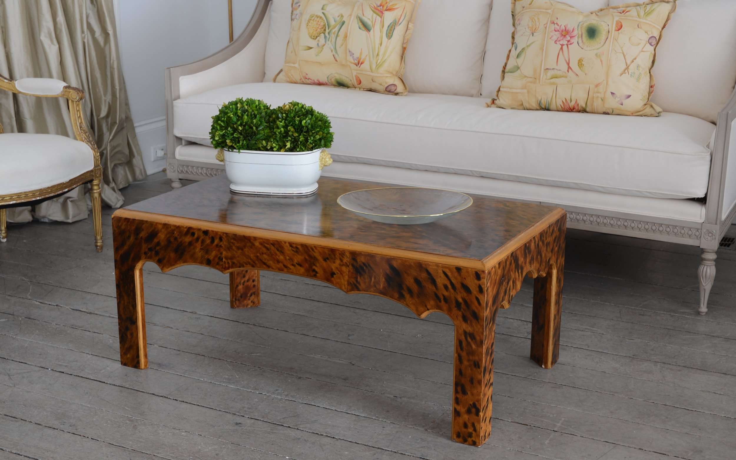 - ST. CHARLES COCKTAIL TABLE AVAILABLE AS CONSOLE & SIDE TABLE