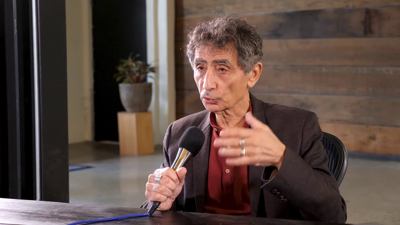 Dr Gabor Maté helping us understand why we get stuck