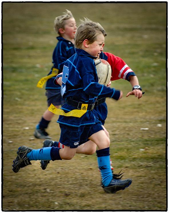 Rugby Saturday, Queenstown, New Zealand
