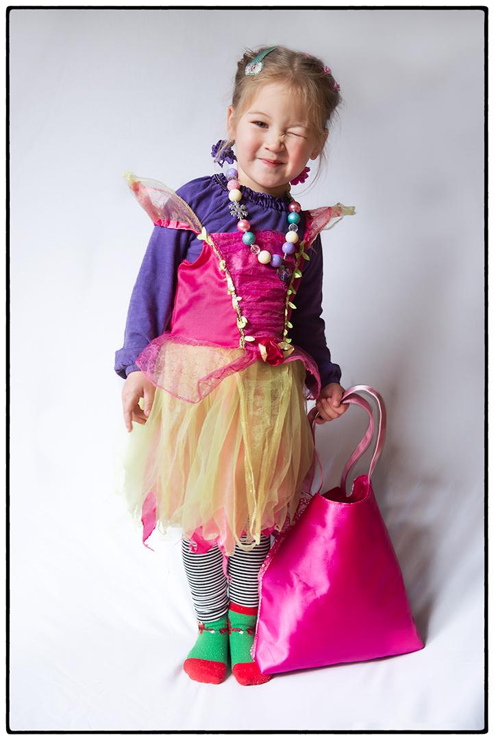 A Child Dressing Herself