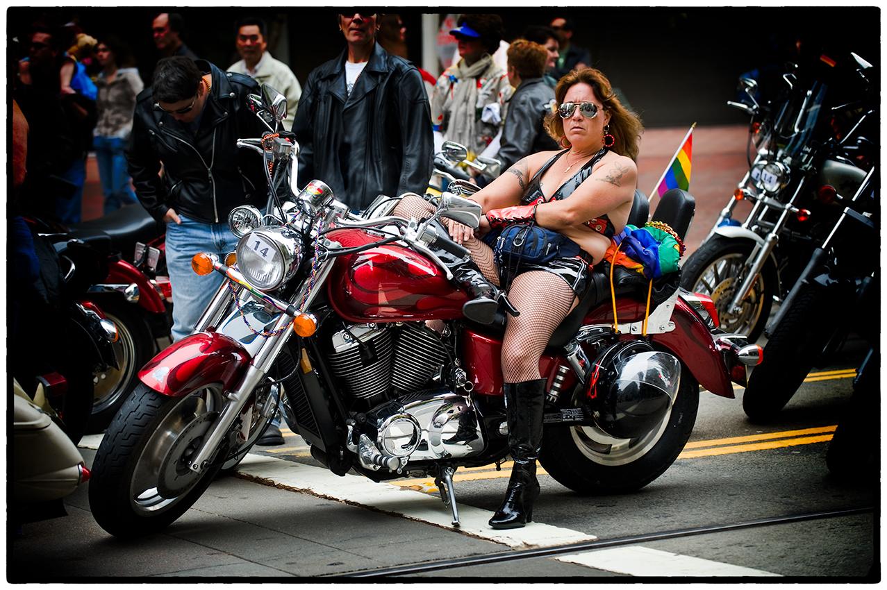 Motorcyclist, San Francisco