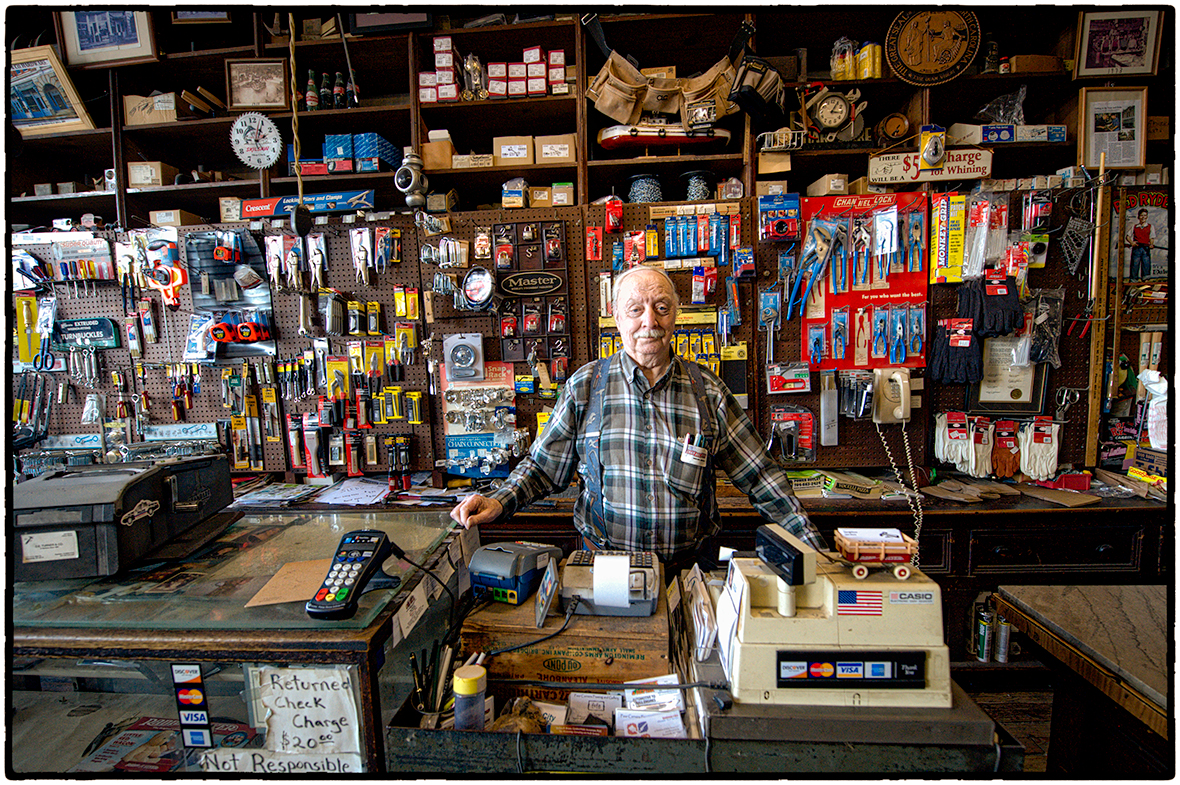 Proprietor, Oldest Hardware Store in North Carolina