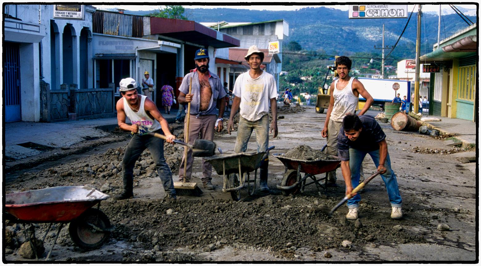 Road Repair, Costa Rica