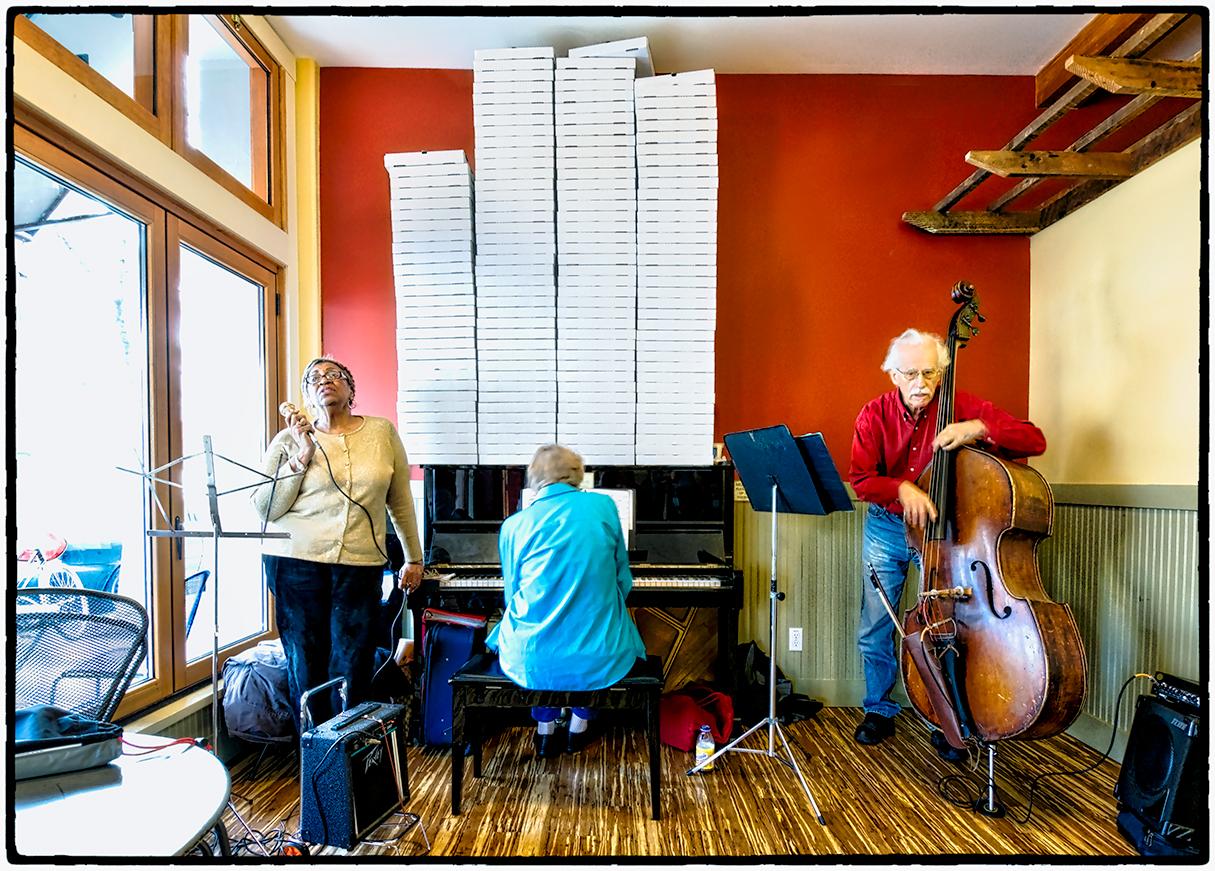 Jazz Trio, Cheeseboard Pizza, Berkeley