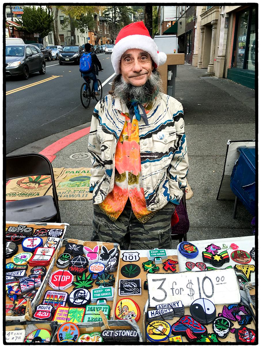Vendor, Telegraph Avenue, Berkeley