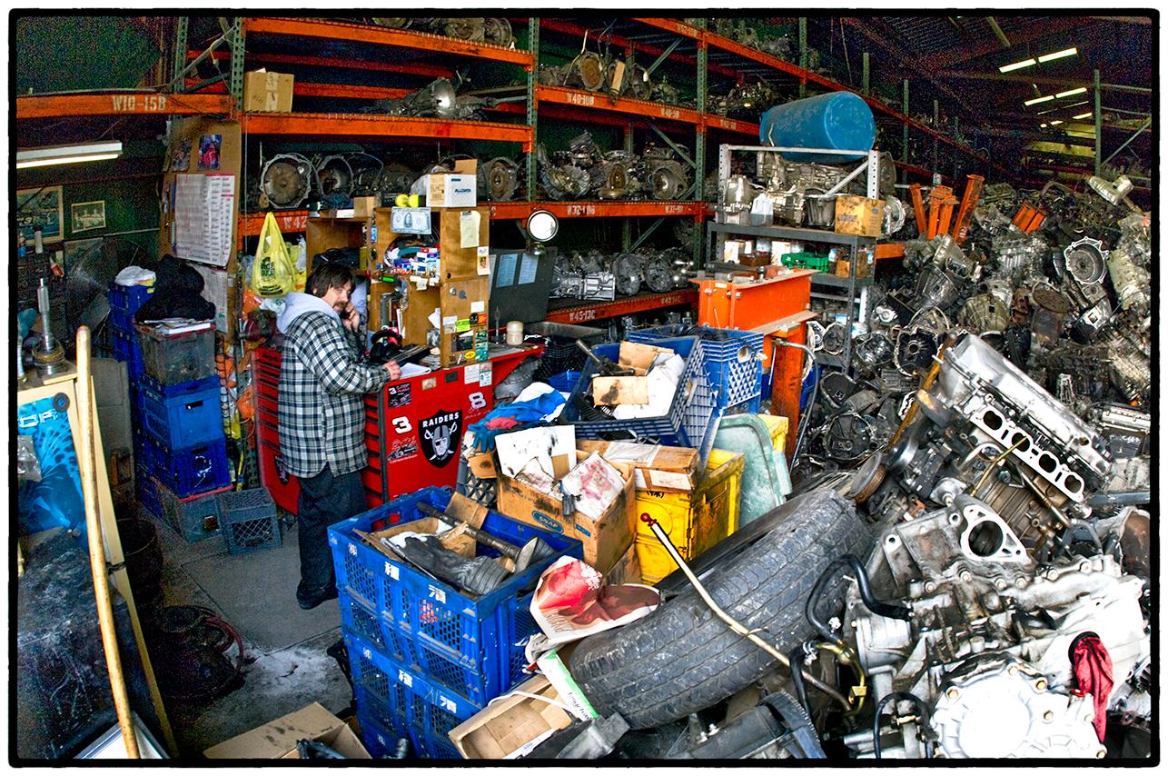 Auto Parts Store, Berkeley