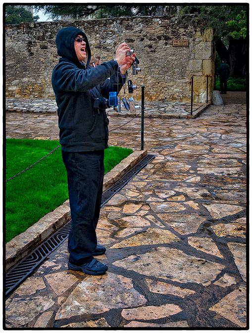 Tour Leader/Photographer, The Alamo, San Antonio, Texas