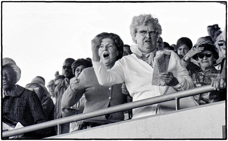 Race Fans, Sonoma County Fair, 1975