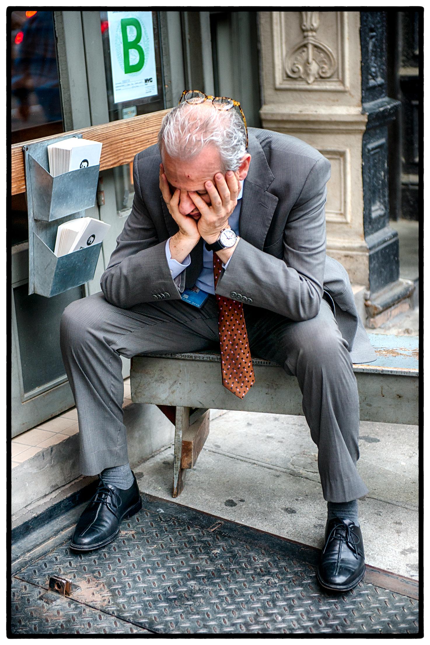 Businessman, Manhattan