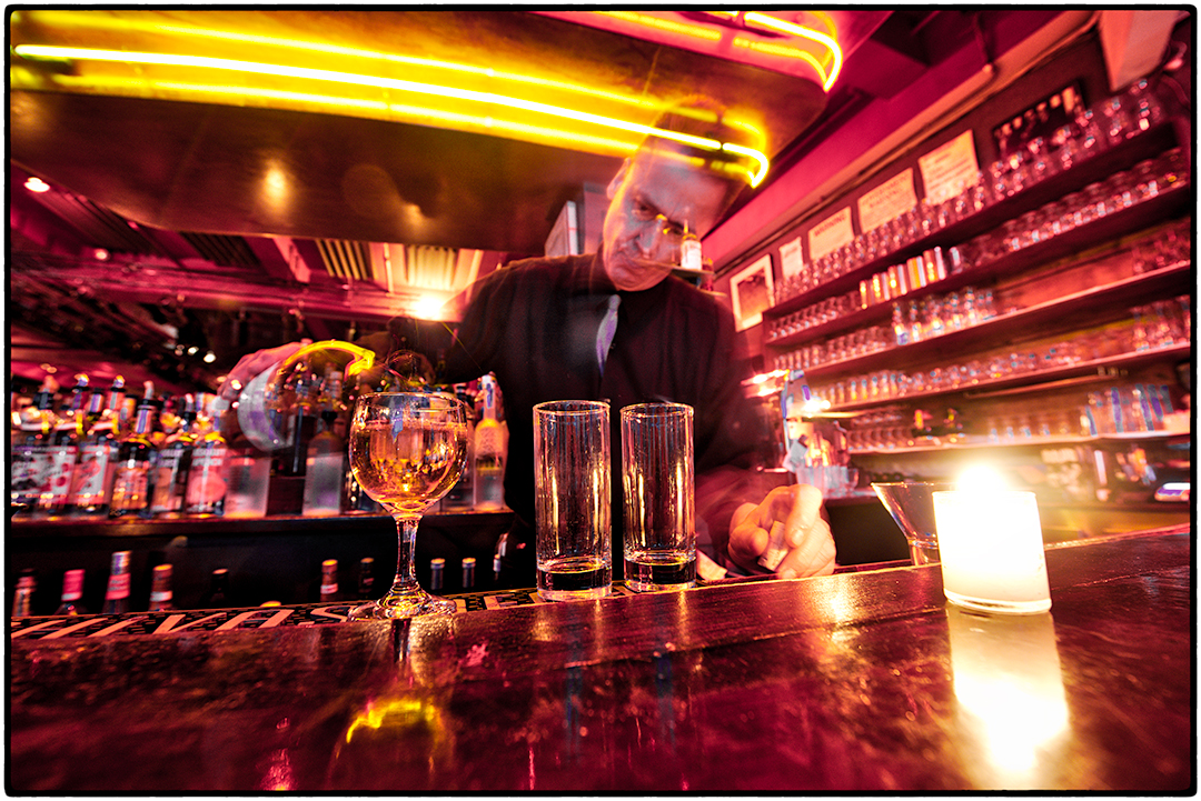 Bartender, Birdland Bar and Club, New York