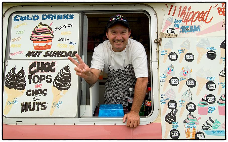 Ice Cream Truck, Wollongong, Australia