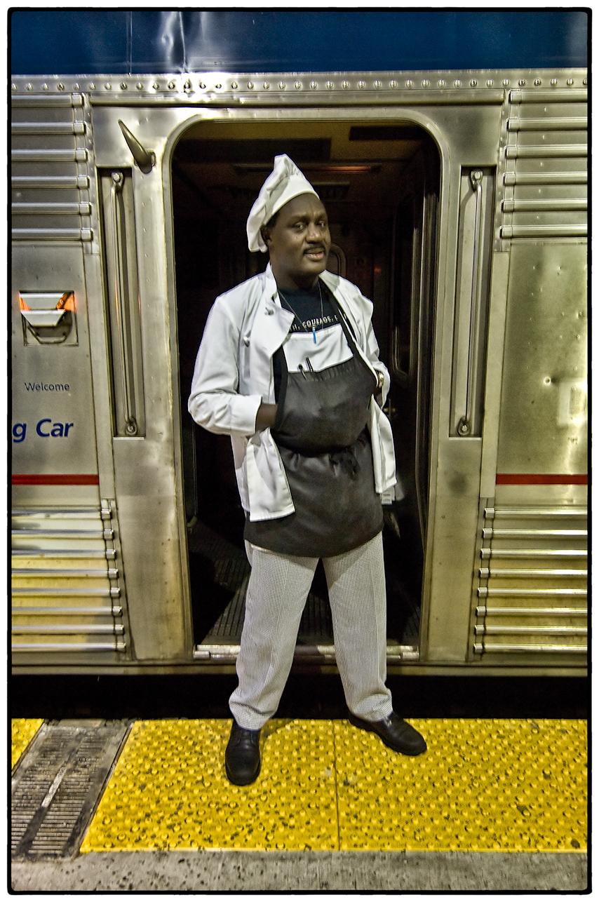 Chef, Amtrak Zephyr, Oakland-Chicago