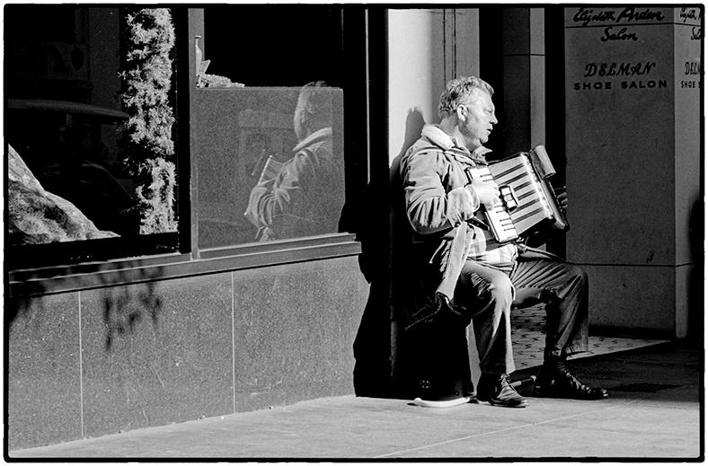 Blind Man, San Francisco, 1970