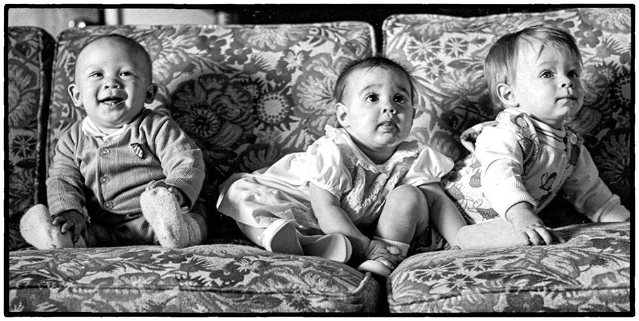 Three Small Children, Cincinnati, Ohio 1974
