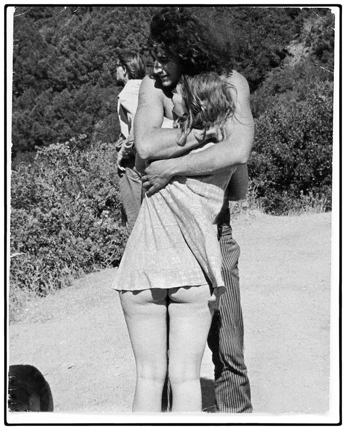 Couple, Mt. Tamalpais, 1969