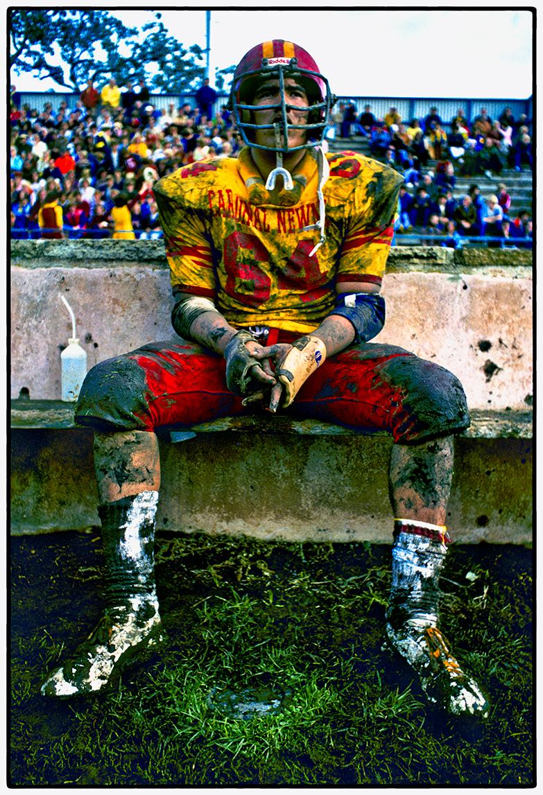 Football Player, Santa Rosa 1977
