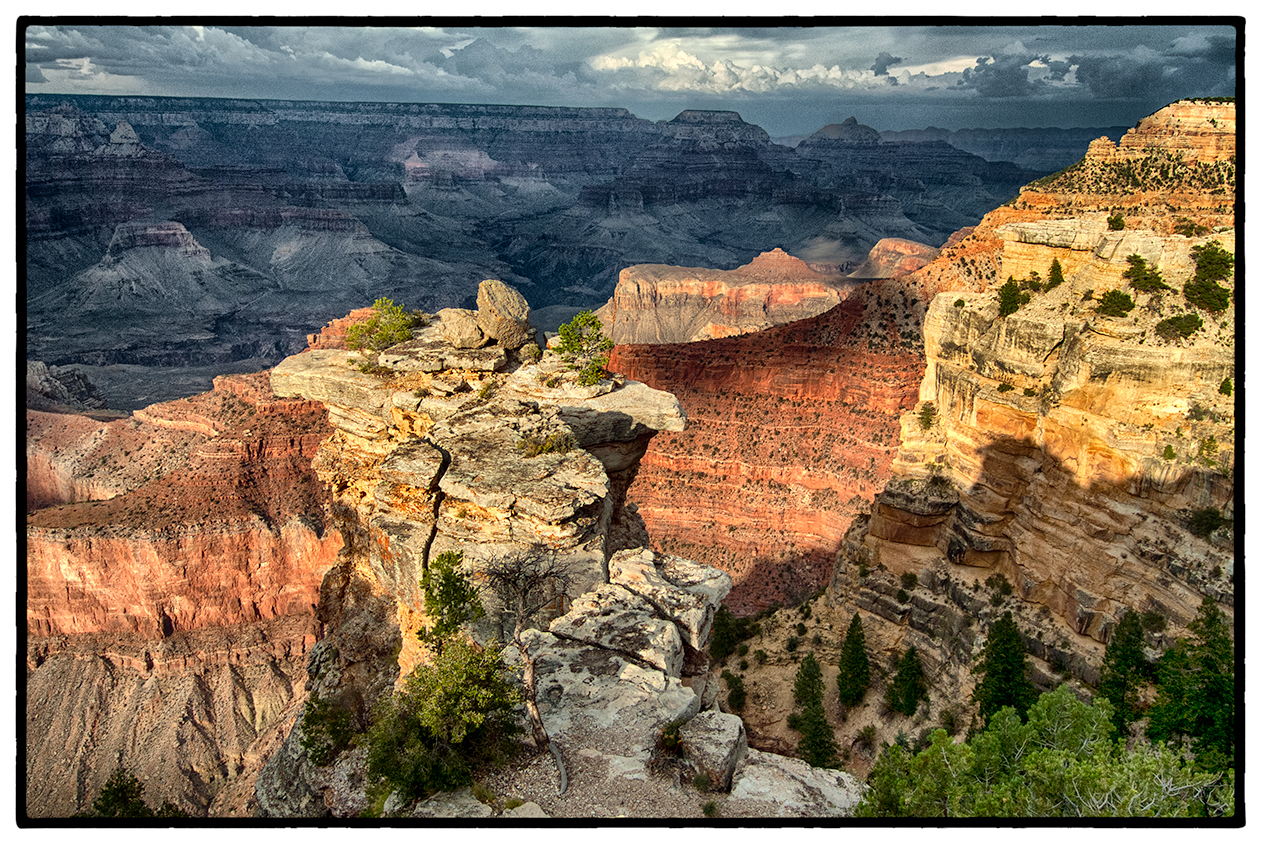 Sunset, South Rim, The Grand Canyon