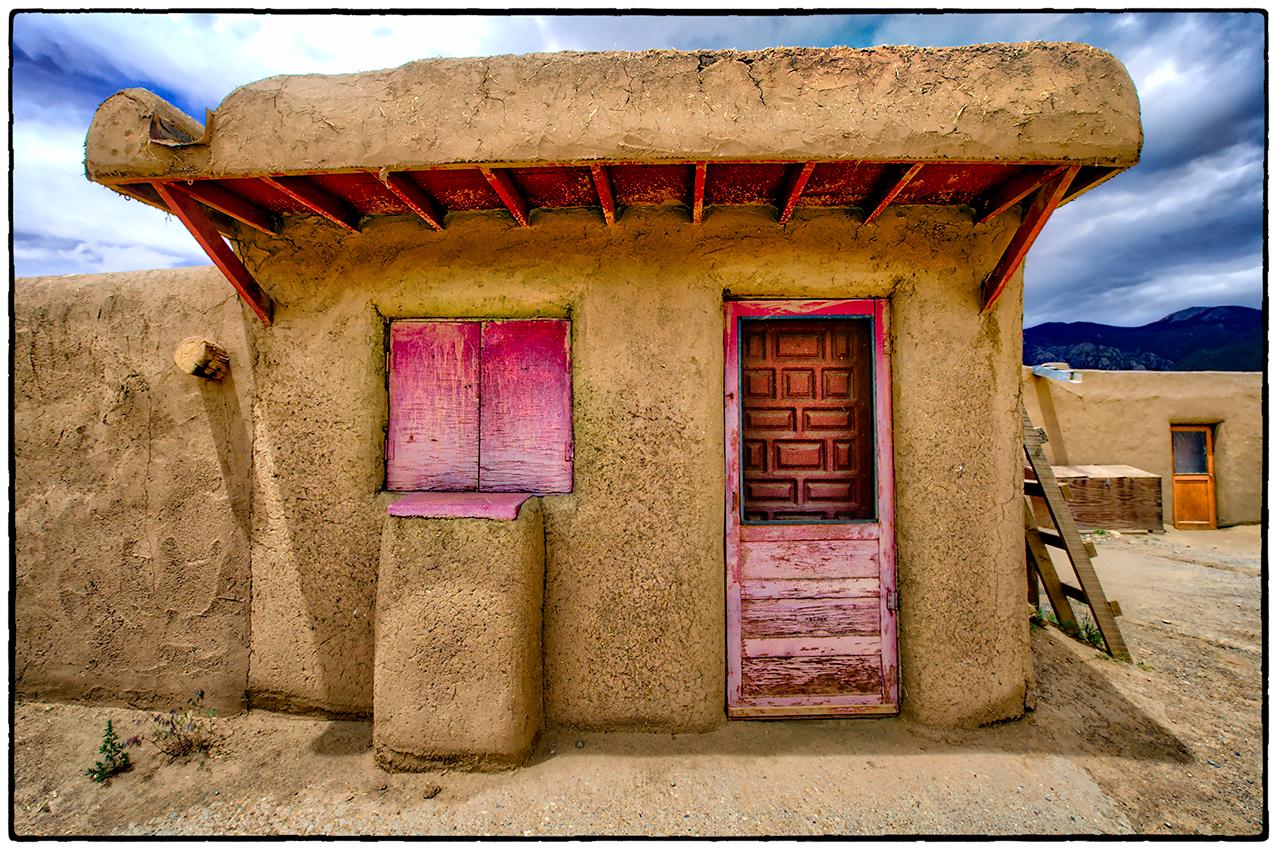 Indian Pueblo, Taos, New Mexico