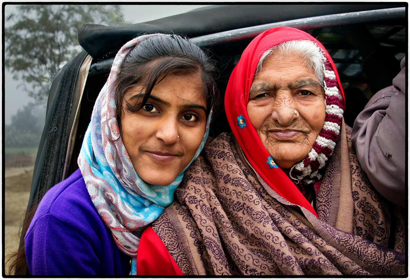 Mother and Daughter, India