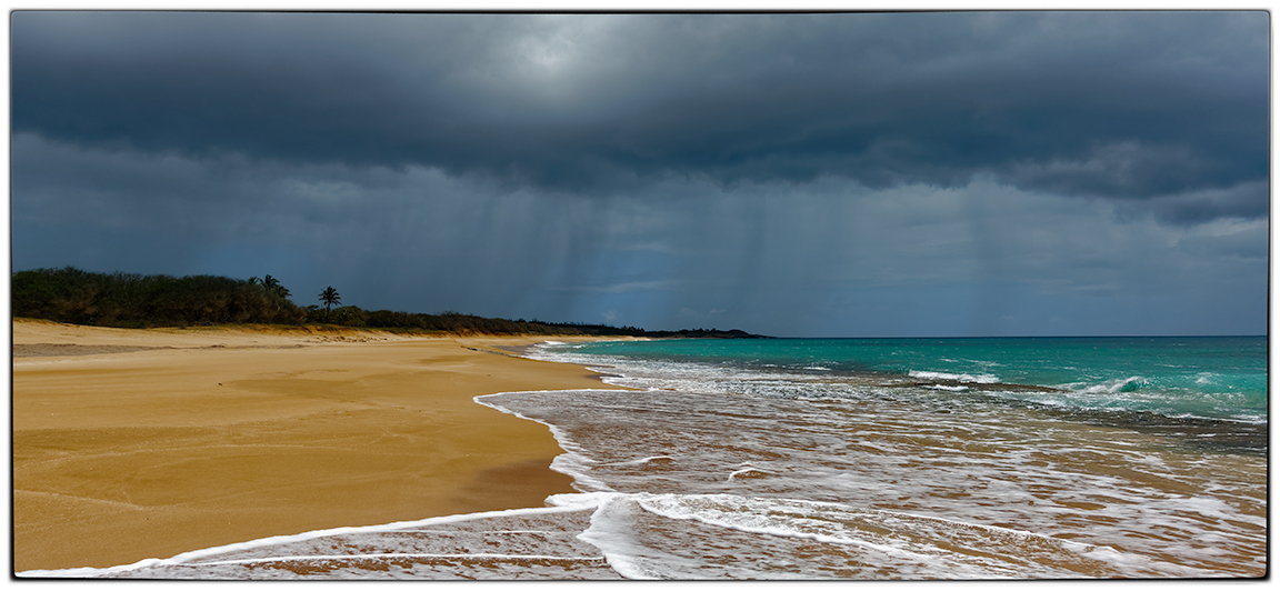 Beach and Storm
