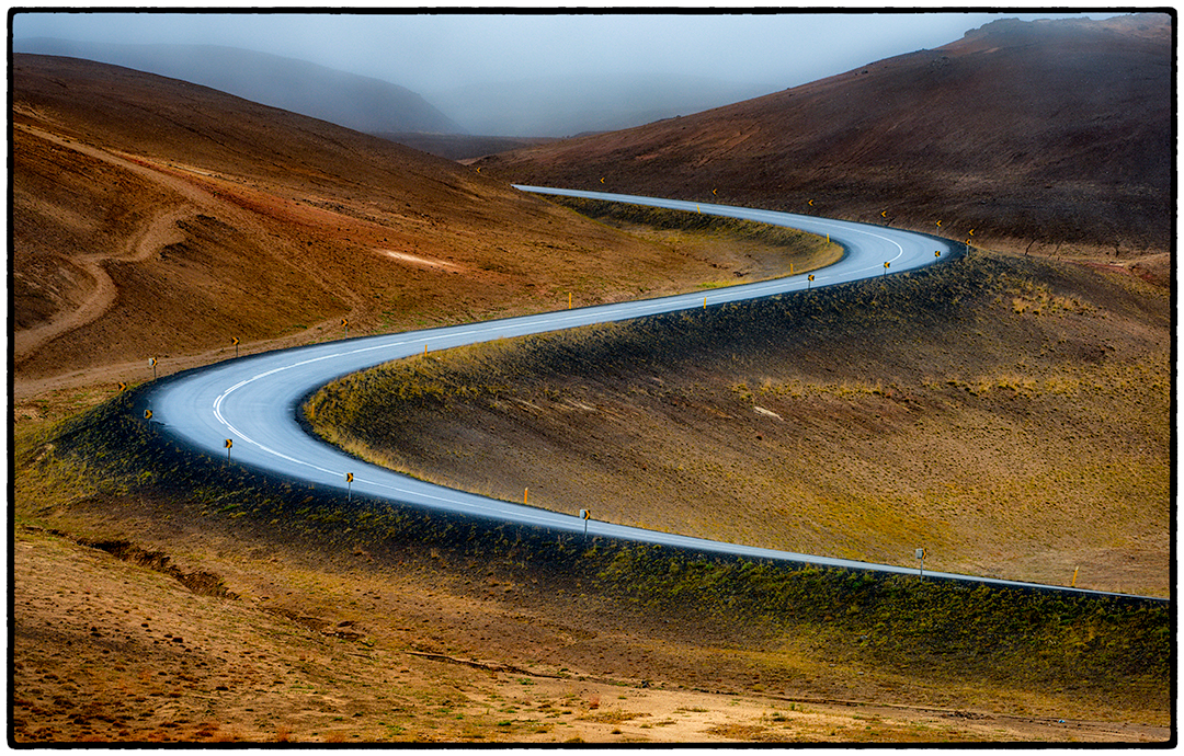Ring Road Leaving Geothermal Zone