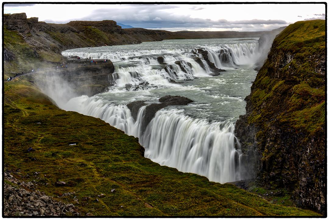 Waterfall at Gullfoss