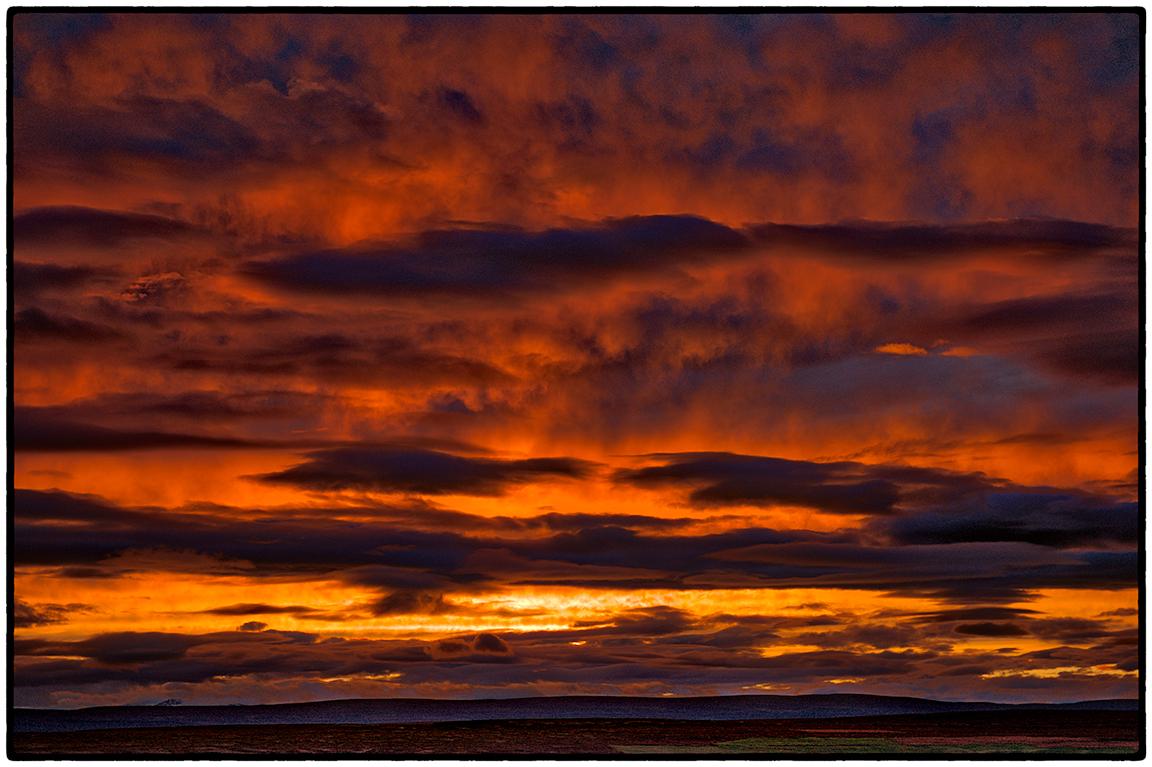 Unretouched, Unenhanced Icelandic Sunset
