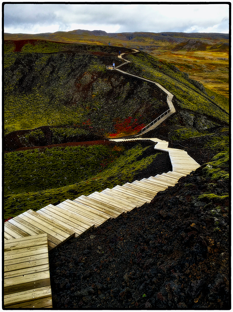 Steps Across the Craters