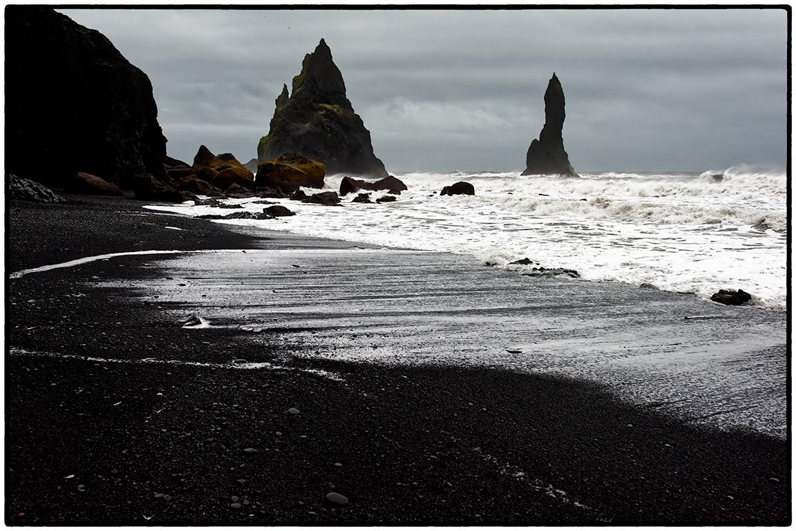 Haystacks, Black Sand Beach