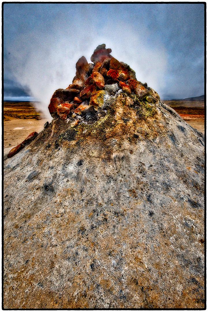 Fumerole, Geothermal Area