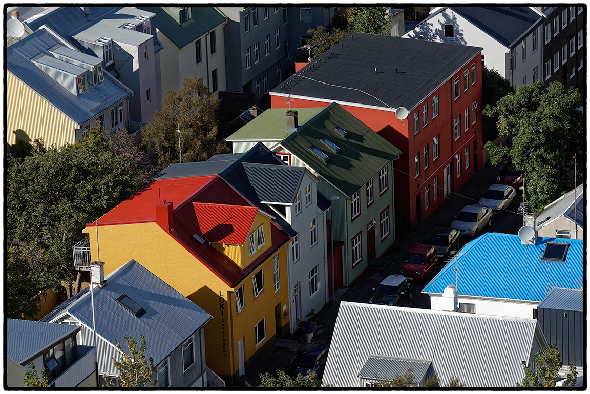 Houses, Reykjavik