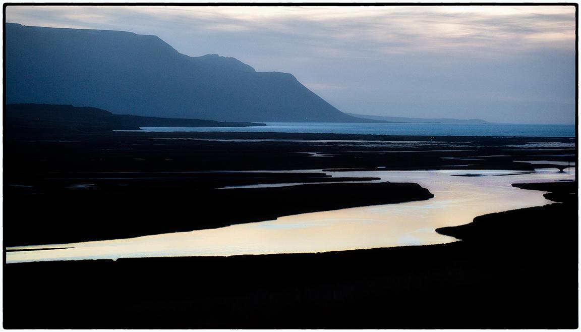 Sunset, North Iceland