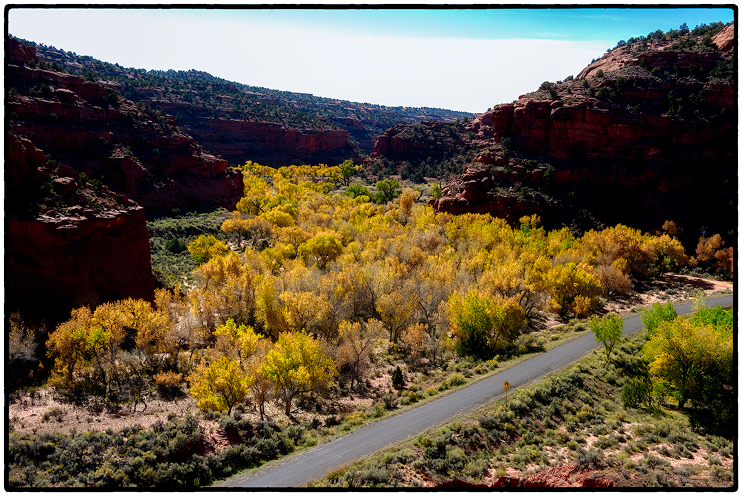 Along the Burr Trail in Escalante National Monument