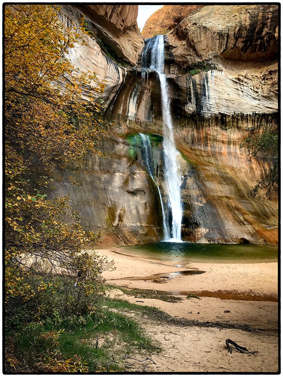 Lower Calf Creek Falls, Escalante National Monument, Utah